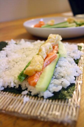 Citrus sushi