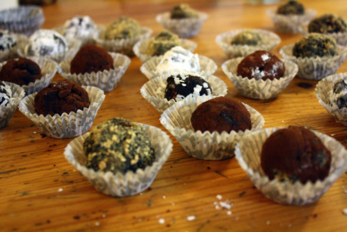whiskey chocolate balls