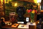 Julia Child sculpture at the Culinary Institute