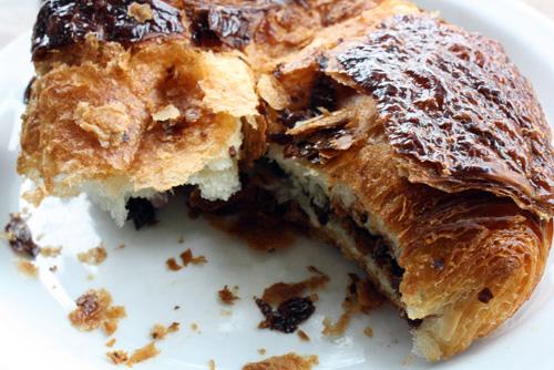 Chocolate croissant at Tartine