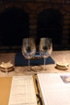 Wine tasting at Castello di Amarosa